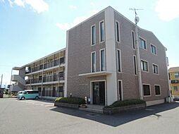 滋賀県東近江市佐野町の賃貸マンションの外観
