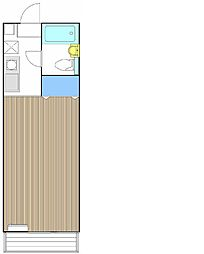 サンクレール大船[2階]の間取り