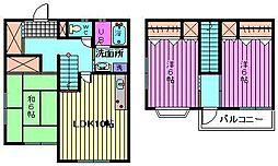 [テラスハウス] 埼玉県さいたま市西区大字指扇651丁目 の賃貸【/】の間取り