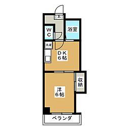 ル・サフィ−ル八条[3階]の間取り