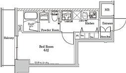 ラフィスタ大師前III[8階]の間取り
