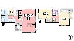 [一戸建] 兵庫県姫路市白浜町乙 の賃貸【/】の間取り