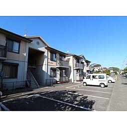 静岡県静岡市清水区石川の賃貸アパートの外観