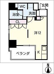 DOMUS&PLEASURE[3階]の間取り