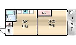 ハイム8848[701号室]の間取り