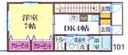 新築物件 お出かけに便利な都賀駅徒歩5分の立地[1階]の間取り
