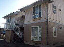 千葉県君津市中野の賃貸アパートの外観