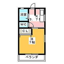 プライムステージ[2階]の間取り