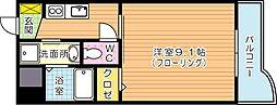 セレスタイト黒崎[6階]の間取り