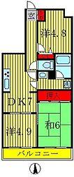 ライオンズマンション三郷第3[5階]の間取り