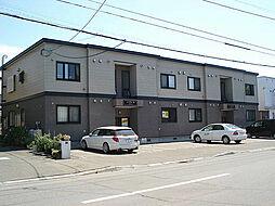 北海道札幌市東区北四十五条東3丁目の賃貸アパートの外観