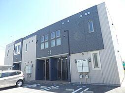 JR山陽本線 土山駅 バス12分 国安北下車 徒歩8分の賃貸アパート