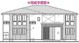 東京都青梅市河辺町1丁目の賃貸アパートの外観