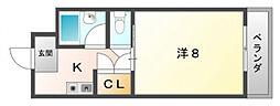 シャンブレヨシ[2階]の間取り