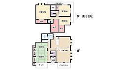 [一戸建] 愛知県名古屋市名東区貴船1丁目 の賃貸【/】の間取り