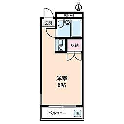 グルメゾン川崎[3階]の間取り