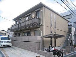 大阪府東大阪市稲田上町1丁目の賃貸アパートの外観