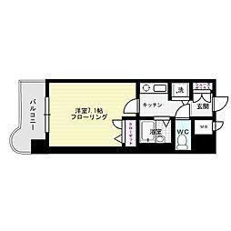 ライオンズマンション南福岡中央[6階]の間取り
