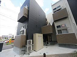 愛知県名古屋市西区新福寺町1の賃貸アパートの外観