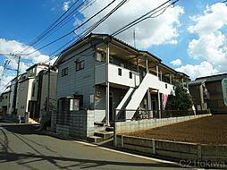 埼玉県朝霞市根岸台5丁目の賃貸アパートの外観