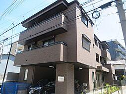 大阪府茨木市元町の賃貸アパートの外観