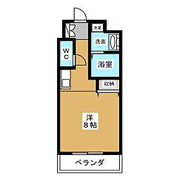 サン・錦本町ビル[8階]の間取り