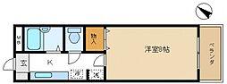 エスポワール尾崎[3階]の間取り