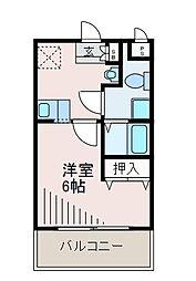 S-FORT玉川学園[2階]の間取り
