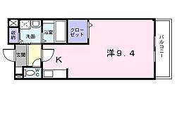 プレステージプラス[1階]の間取り