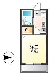 BONNY HIROZI[3階]の間取り
