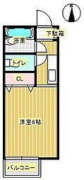コウジィコート[2階]の間取り