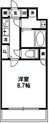 プロシード大阪西バロンドール[806号室]の間取り