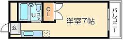 スタイルビュー東三国[4階]の間取り
