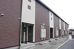 栃木県栃木市都賀町合戦場の賃貸アパートの外観