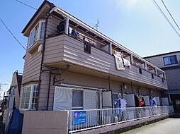 埼玉県所沢市小手指台の賃貸アパートの外観
