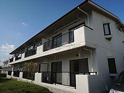 東京都府中市本宿町3丁目の賃貸マンションの外観
