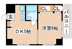 兵庫県神戸市西区北別府3丁目の賃貸マンションの間取り