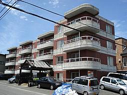 北海道札幌市豊平区月寒西一条8丁目の賃貸マンションの外観