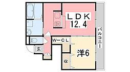 中八木駅 7.0万円