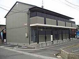 埼玉県越谷市大字平方の賃貸アパートの外観