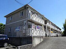 大阪府寝屋川市高宮あさひ丘の賃貸アパートの外観