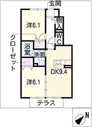 Le.Premier[1階]の間取り