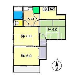 MKマンション(瀬戸)[3階]の間取り