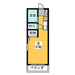 エミナコレージュI[2階]の間取り