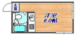 深江本町マンションG[204号室]の間取り