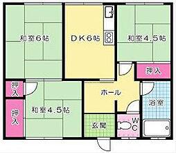 石田コーポ[301号室]の外観