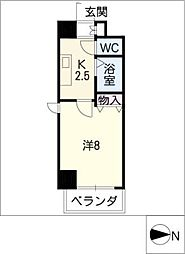 クレストステージアスカ[3階]の間取り