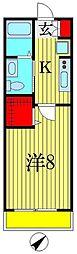 THYME FUNABASHI[2階]の間取り