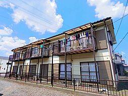 東京都東村山市秋津町4丁目の賃貸アパートの外観