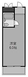 天満橋アバンティ[201号室]の間取り